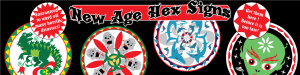 Hex sign ad banner