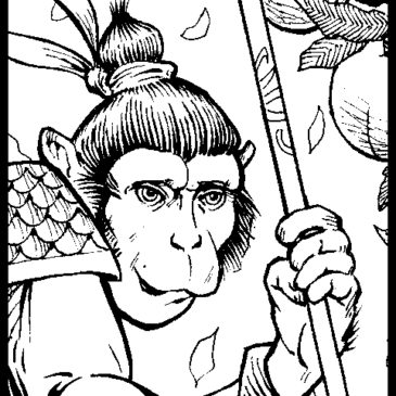 Monkey King Original Art Debut